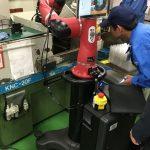 最新型の協働ロボット